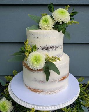 Vermont Wedding Cake