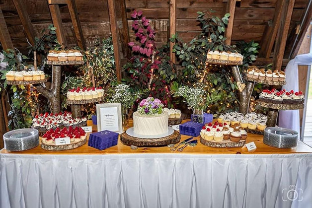 Rusting Wedding Cupcakes VT