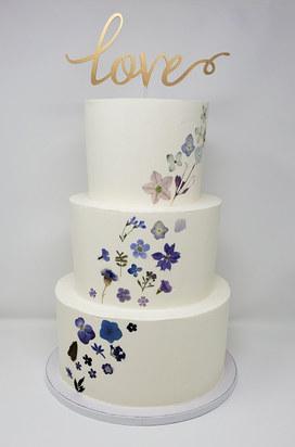Pressed Flower Cake VT