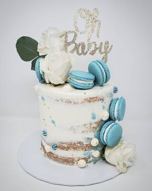 Baby shower cake VT