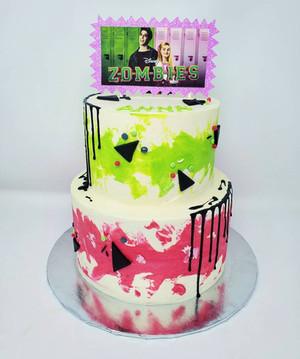 Disney Zombies Cake VT