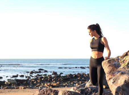 Get outside: Pilates by the Sea