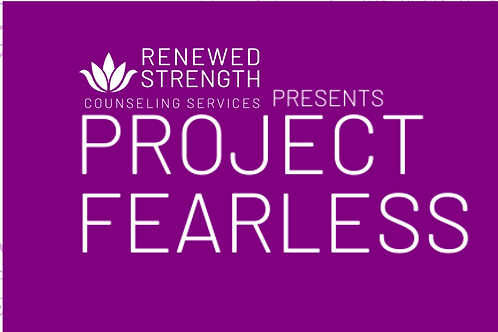PROJECT FEARLESS Teen Girls Group (Full Payment)