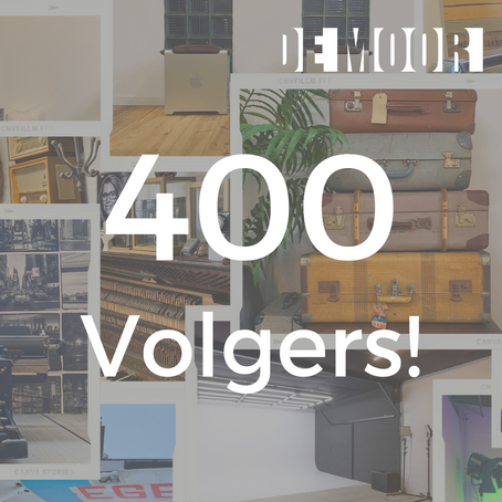 400 Volgers! 🎉