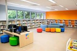 Katherine Tyra Branch Library seating ar