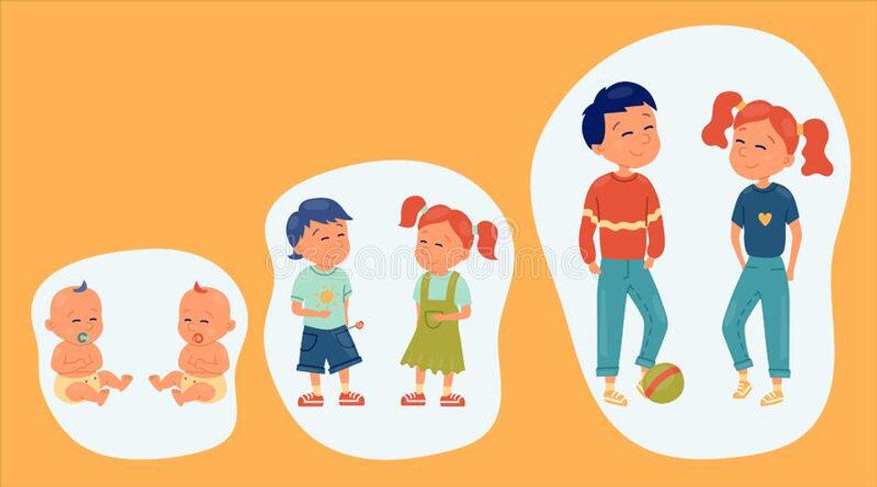 set-kids-different-ages-smiling-children