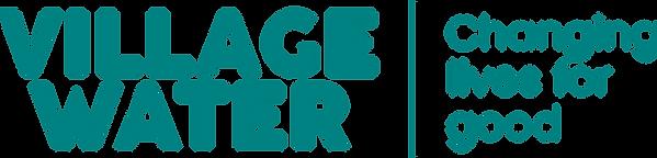 VillageWater_WordMark-Tagline-AquaGreen.