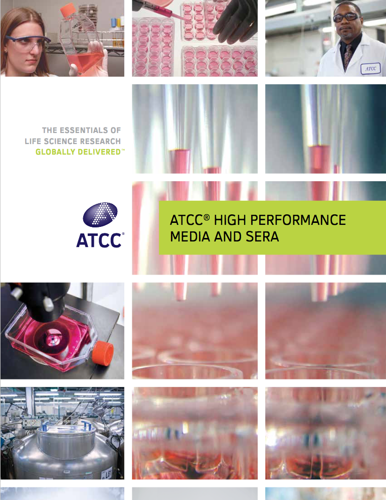 ATCC High Performance Media and Sera