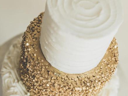Gold Wedding Cake Bakery.jpg