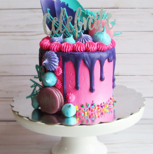 Over the Top Birthday Cake
