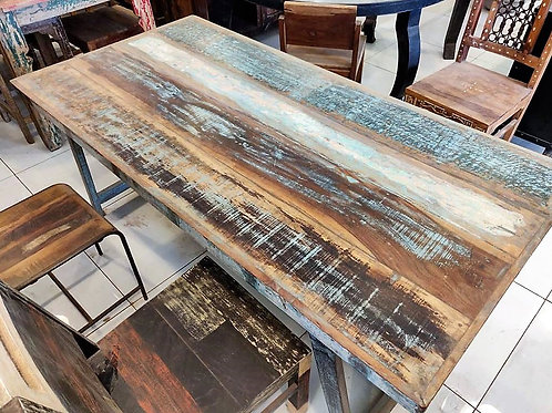 Distressed Wood Console
