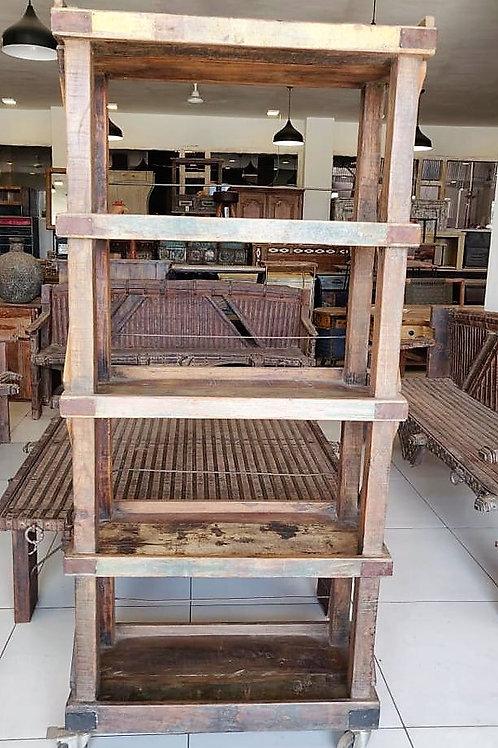 Natural Wood Large Shelf