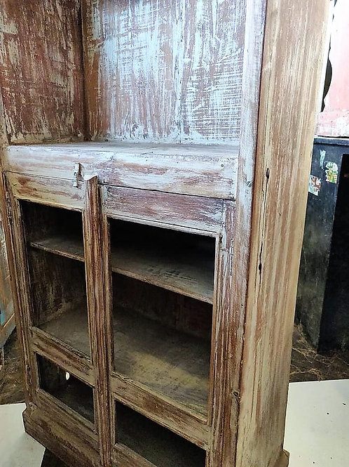 White Wash Reclaimed Wood Unit