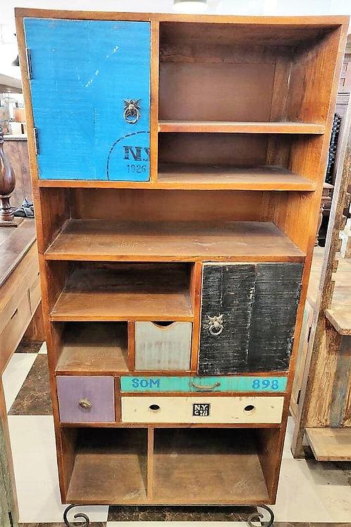 Large Wood Multi Colour Shelf