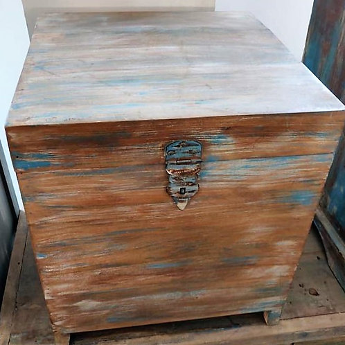 Distressed Wood Box
