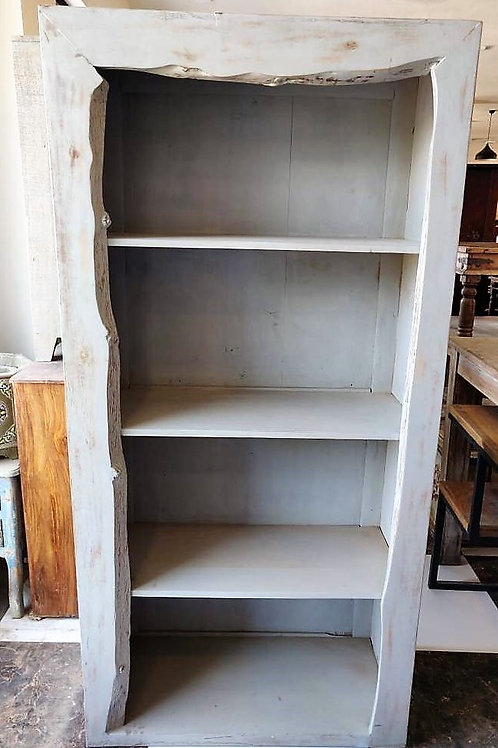 White Colour Wood Shelf