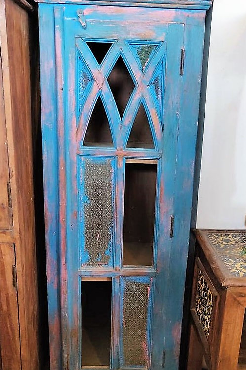 Blue Wash Glass Door Large Unit