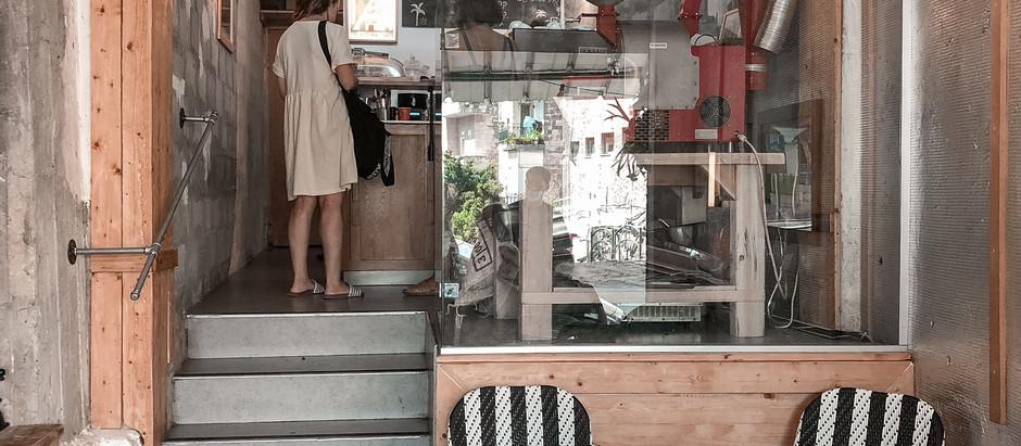 מבית הספר עד לשוק בחיפה – טלק, קפה בשוק תלפיות