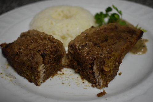 Rollos de solomillo de cerdo (porción)
