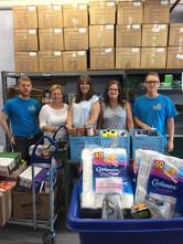 Burlington Food Bank Donation