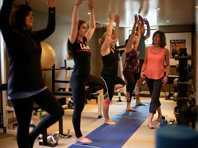 Indoor Group Training in Balance Fitness Studio