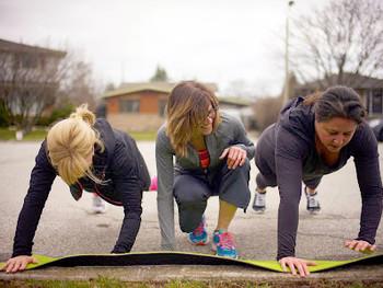 Balance Fitness Group Training Outdoors