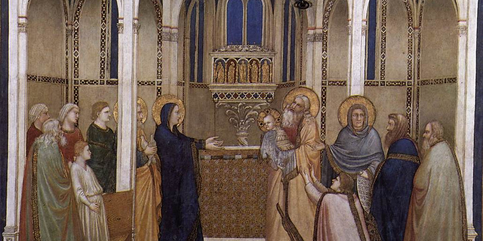 Mary in the Temple of the Jerusalem: The Presentation (Luke 2:22-40)