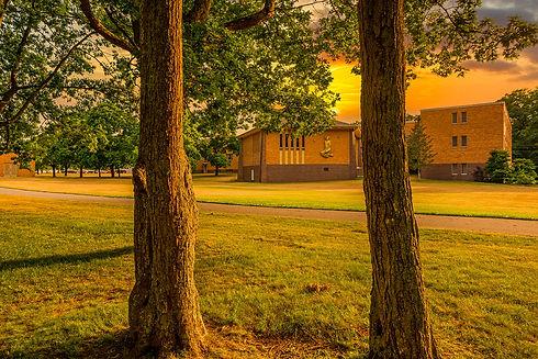 72-Outdoor RH chapel from trees.jpg