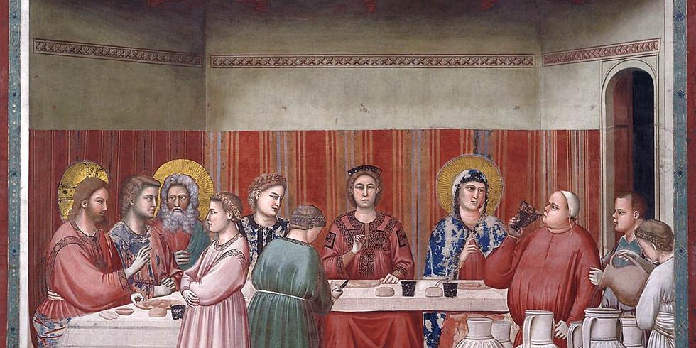 Mary in Cana: The Wedding of Cana (John 2:1-12)