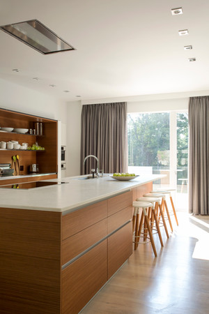 A kitchen to entertain