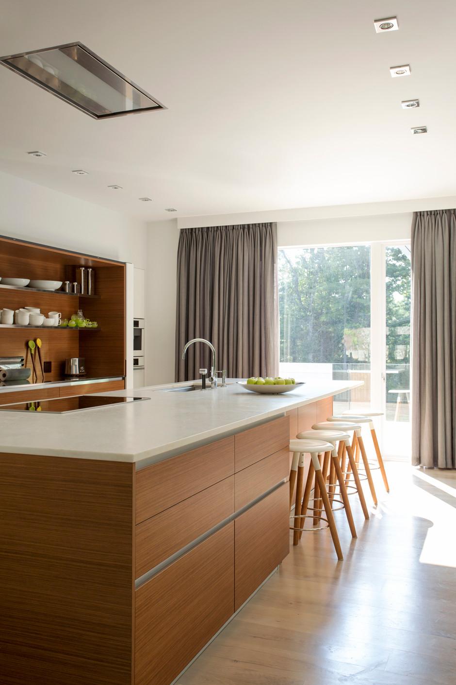 A kitchen to entertain