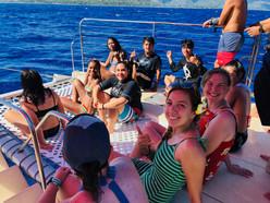 Last Day? Catamaran!
