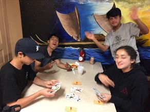 Bonding Over Cards