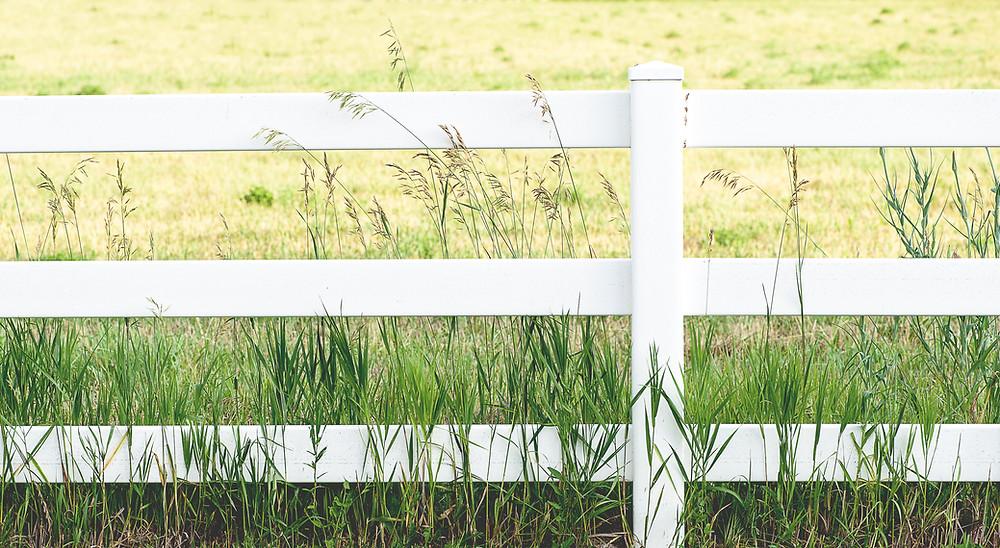 fence as boundary
