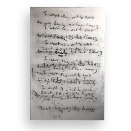 JORDAN SEEFRIED - The Weight Of The Letters II