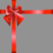 red bow and ribbon .png
