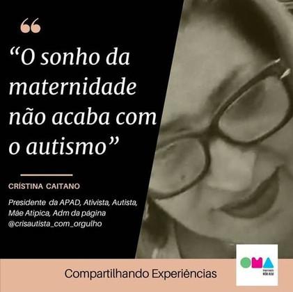 """""""O sonho da maternidade não acaba com o autismo"""""""