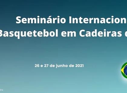 CBBC realiza Seminário Internacional de Basquetebol em Cadeira de Rodas