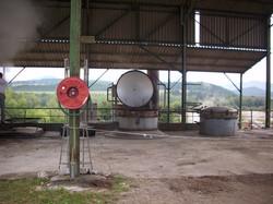 La distillation.