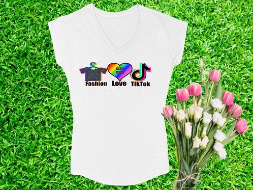 """For the Love of TikTok"" Mommy Shirt"