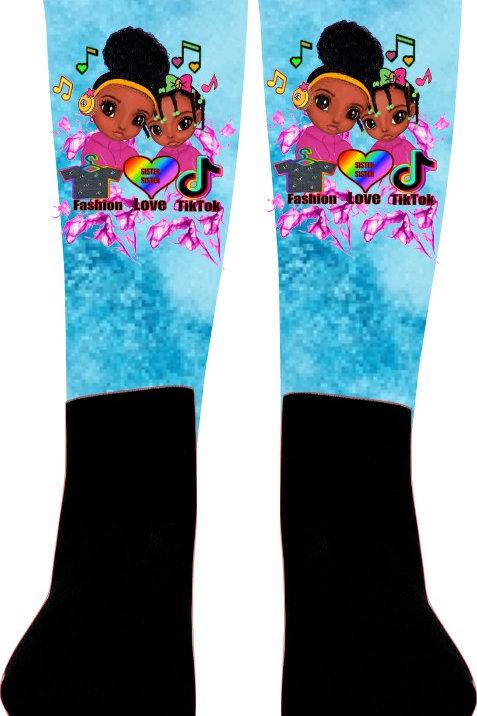 """For the Love of TikTok"" Socks"