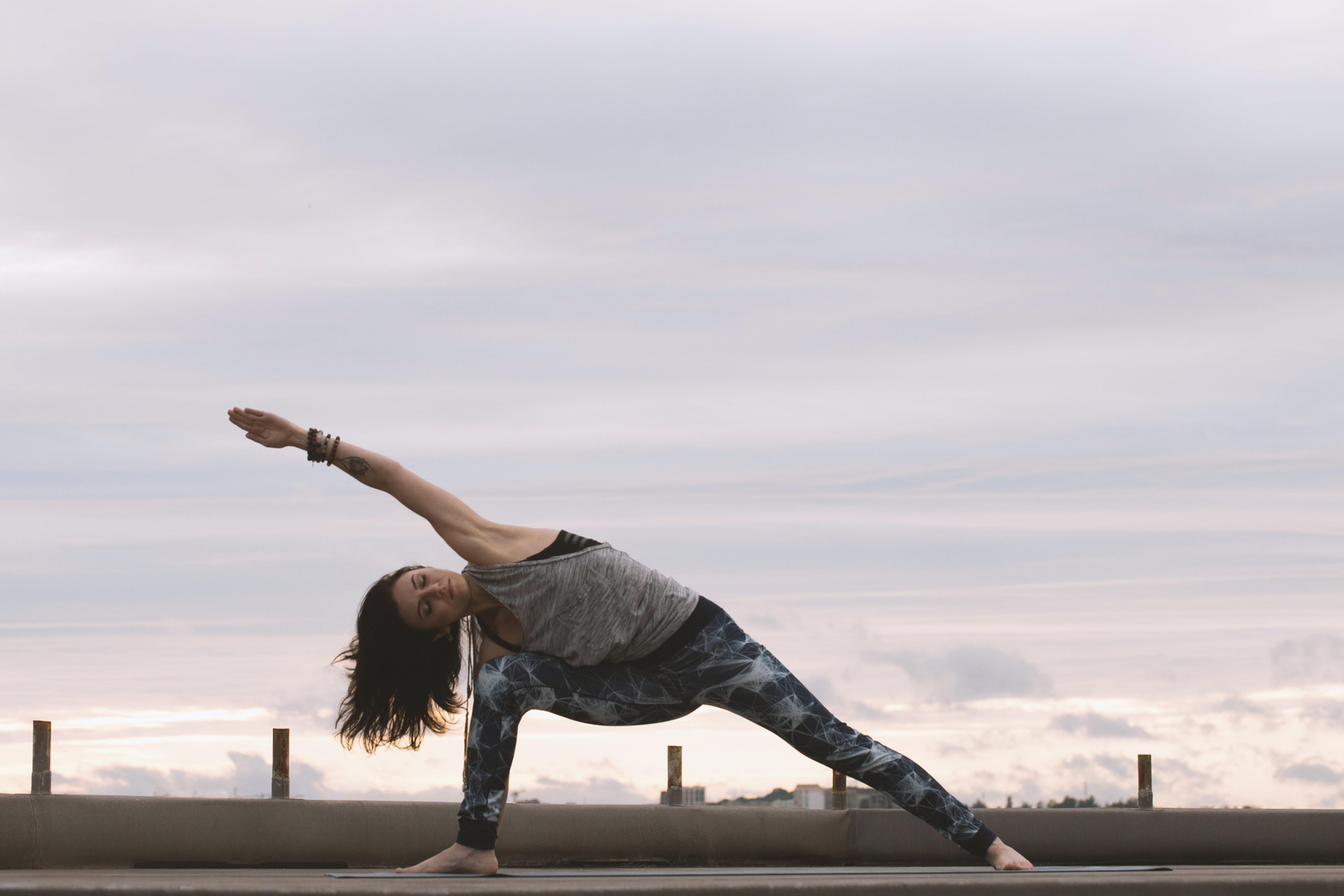 Vinyasa Flow Yoga Whitley Bay Beach