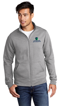 Port & Company ® Core Fleece Cadet Full-Zip Sweatshirt