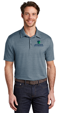 Port Authority Stretch Heather Polo