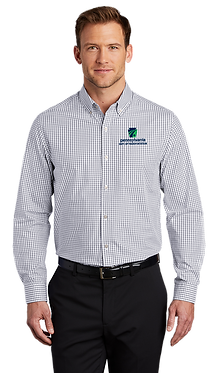 Port Authority Broadcloth Gingham Easy Care Shirt