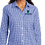 Thumbnail: Port Authority Ladies Broadcloth Gingham Easy Care Shirt
