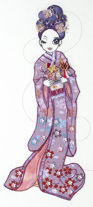 和の花嫁 藍