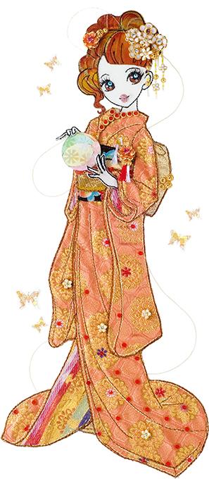 和の花嫁 橙