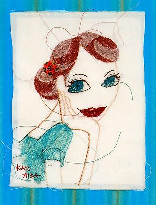 アイバカヨコ、美人画