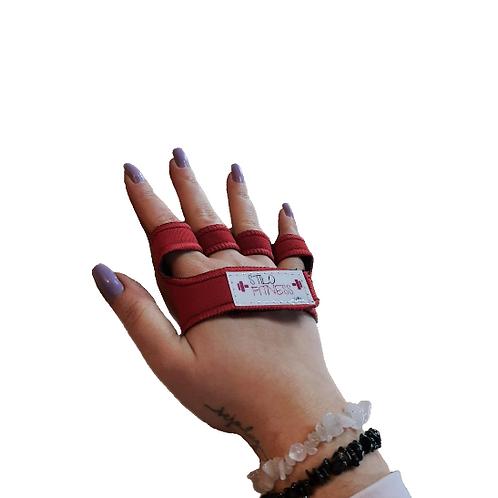 Luva Palmex Vermelha (Par)